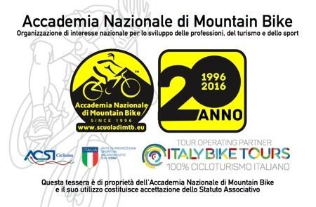 Tessera Accademia Nazionale di Mountain Bike