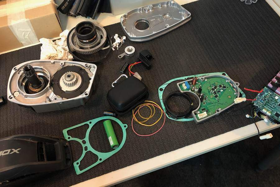 Corso Meccanica E-Bike componenti motore