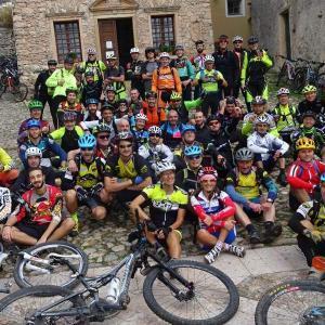 Foto di gruppo Corso Guide a Finale Ligure