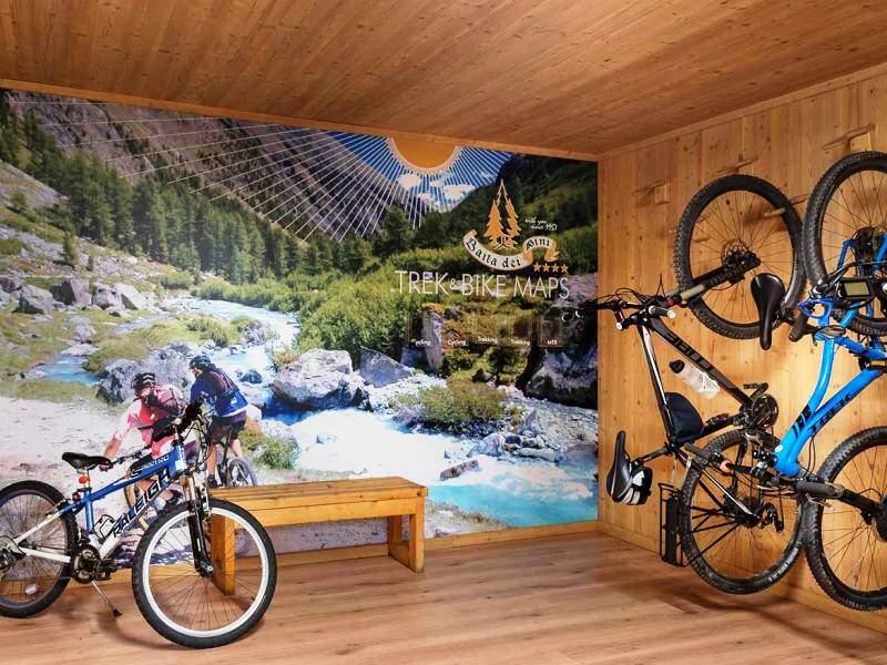 luoghi dedicati alle bici in hotel
