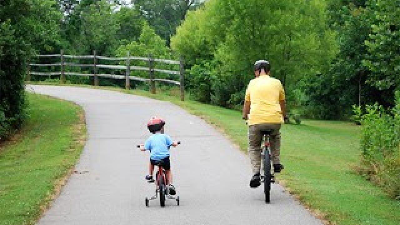 bimbo e padre, i valori dello sport
