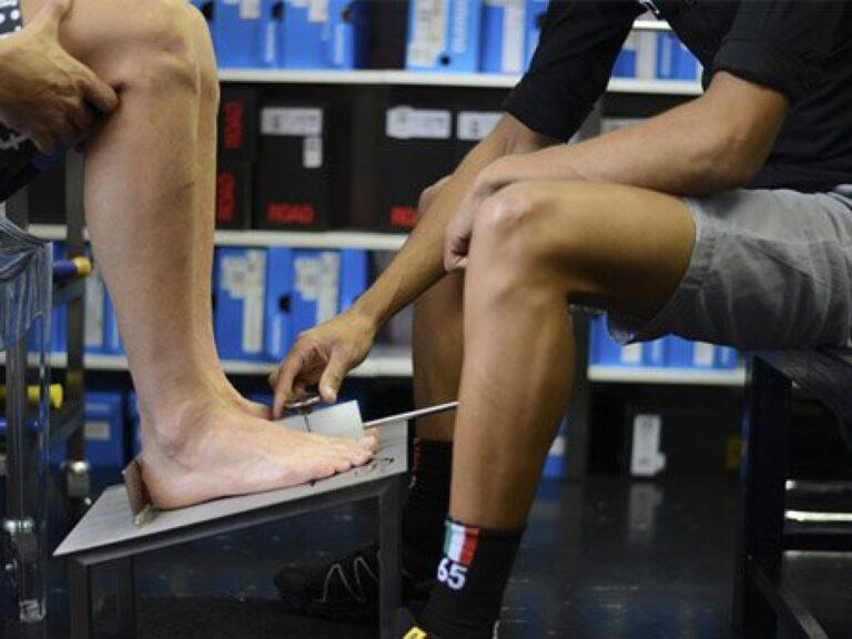 biomeccanica e piedi nel ciclismo