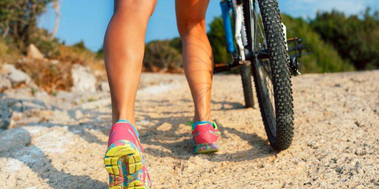 le caviglie nel ciclismo e i dolori