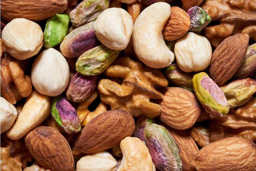 Nutrizione, frutta secca
