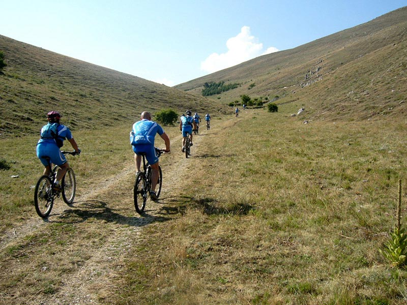 Mtb in sicurezza a distanza