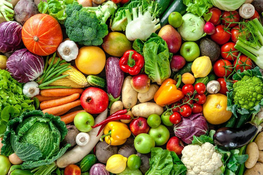 Nutrizione, verdura fresca
